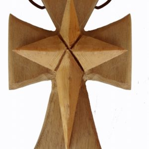 Wood Necklaces – Nativity Star Necklace