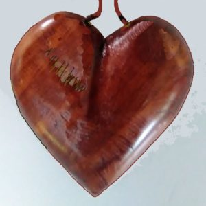 Wood Necklaces – Heart (Red Cedar)Necklace