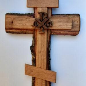WOOD Crosses – Chi Rho Cross