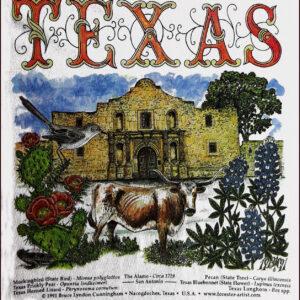 T-Shirts – The TEXAS Alamo & Nature